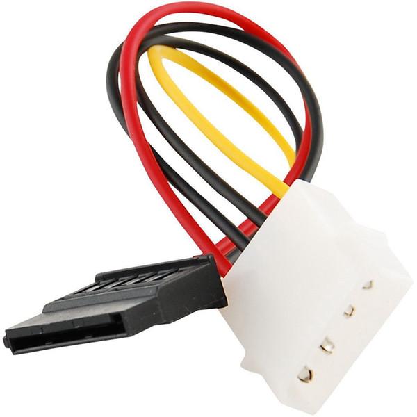 Cavo adattatore convertitore IDE / Molex / IP4 / da 4 pin a SATA con connettore a 15 pin