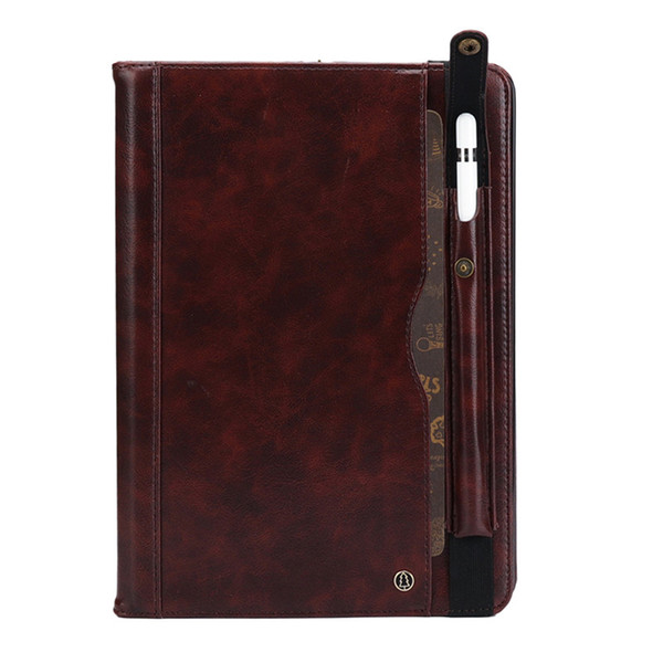 "PU Leather Business Cover For ipad pro 10.5"" Flip Stand Case Pen Holder Card Slot Sleep/Wake"