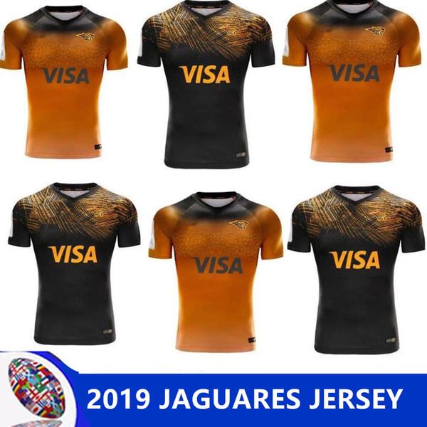 2019 JAGUARES домашняя выездная регби Лига трикотажных изделий 2019 домашняя выездная регби Лига трикотажных футболок ягуары размер леопарда S-M-L-XL-XXL-3XL