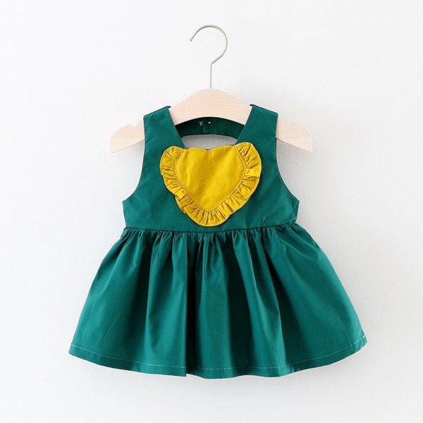 good quality summer baby girls dress newborn girls cotton backless dress princess birthday party clothes toddler girls casual dress