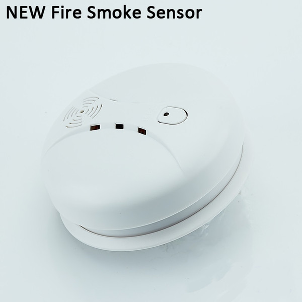 ALK 1pc 433MHz Wireless Fire Smoke Sensor Safety Protection Smoke Detector For Office Home Security Alarm Systems