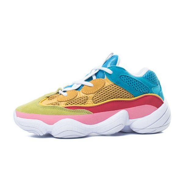 2019 venta caliente 500 Blush Desert Kanye West 500 yung 1 Wave 700 Runner 500 Rat Running zapatos para hombre zapatos de diseñador Zapatillas deportivas