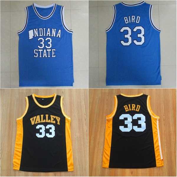 info for 061f1 555aa 2019 #33 Larry Bird INDIANA State College Jersey Stitched Top Quality The  Bird Valley High School Basketball Jersey From Sprotsmall, $14.22 | ...
