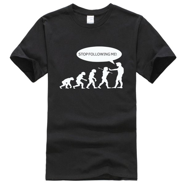 2019 yaz evrim erkek t-shirt beni takip durdurma mağara adamı desen streetwear t-shirt komik hip hop marka clothing t shirt