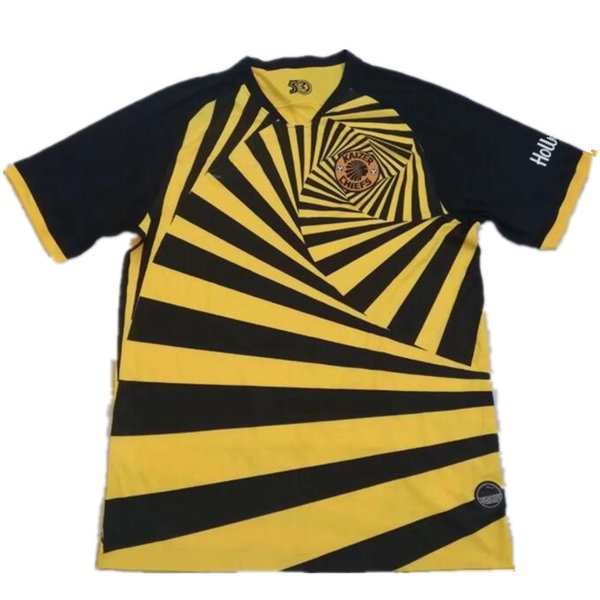 19 20 Kaizer Chiefs Home Yellow Soccer Jerseys 2019 2020 Kaizer Chiefs Away Soccer Shirts New Football Uniform