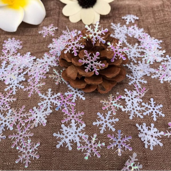 DIY 300pcs Рождественские украшения Снежинка Tress отдыха партии фестиваль Home Decor
