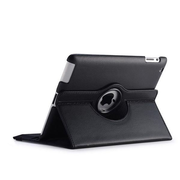 Funda giratoria de cuero de PU de 360 grados con cubierta giratoria Funda de diseñador de moda Luxuru para ipad 2 3 4 5 6 para ipad air 1 2 3 mini 1 2 3 4 5 pro 2019