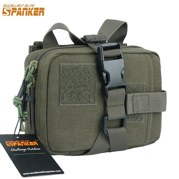 EXCELLENT ELITE SPANKER Tactical Activity First Aid Bags Outdoor Hunting Emergency Bag Military Medical Survival Nylon Kit Pouch #214320