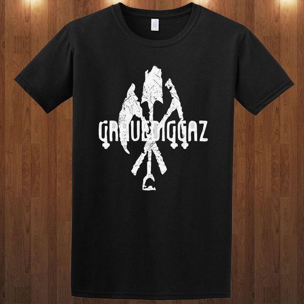 Gravediggaz t-shirt T-Shirt hip hop gruppo S M L XL 2XL 3XL Vero Maestro Uomo Donna Unisex Moda tshirt Spedizione Gratuita