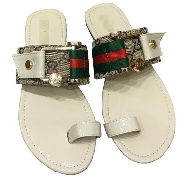 Compre A8Gucci Zapatos Sandalias De Las Mujeres 2019 De La Manera Caliente  Zapatos De Mujer Sandalias De Diamantes De Imitación De Verano Clip De