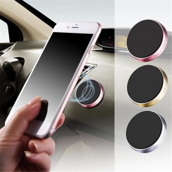 Magnetic Car Holder Telefone para o titular iPhone XS X Samsung Magnet Car Mount para telefone celular no carro Celular Stand Holder