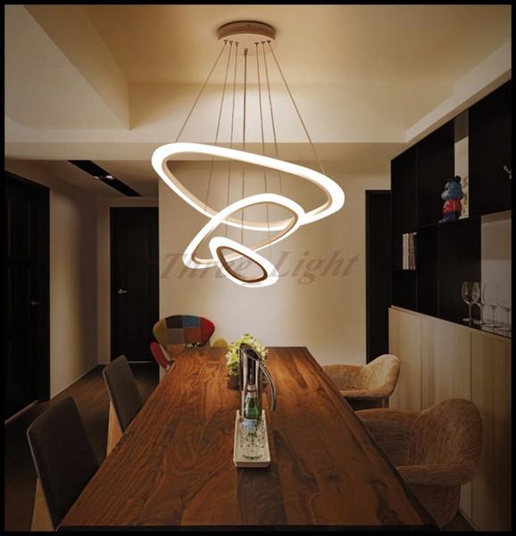 Modern Chandelier Ring Restaurant Light Simple Living Room Creative Personality Led Chandelier Nordic Post Modern Dining Lamp Modern Pendant Lighting