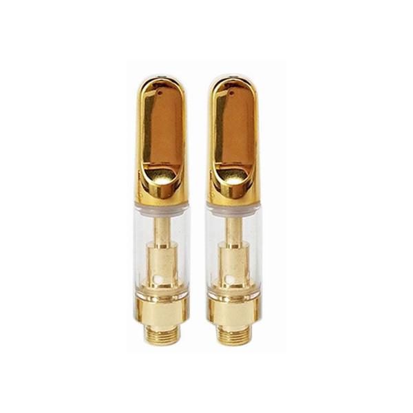 0.5ml с золотым наконечником плоской керамической