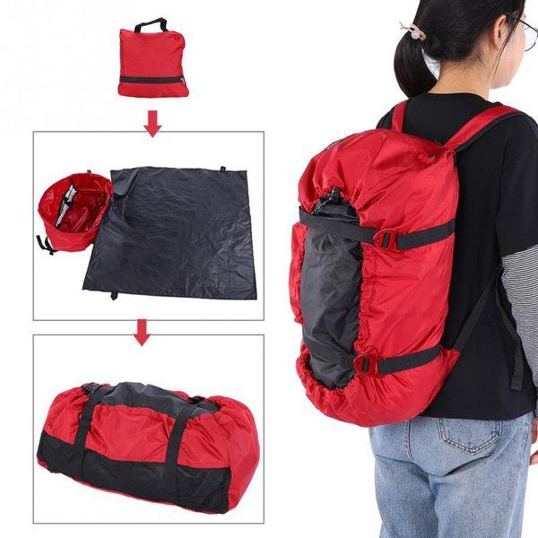 3 in 1 Multifunction Rock Climbing Bags Folding Shoulder Backpack Handbag Outdoor Camping Hiking Picnic Mat