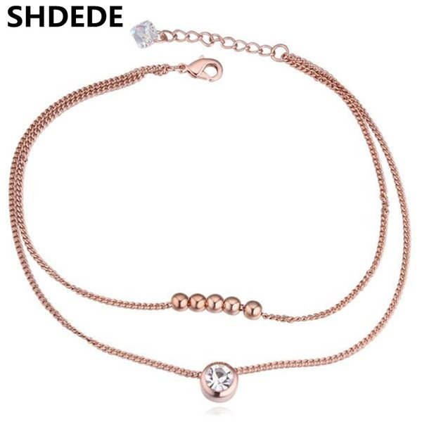 wholesale Austrian Crystal Anklets Jewelry For Women made with Crystal from Swarovski Fashion Accessories -20652