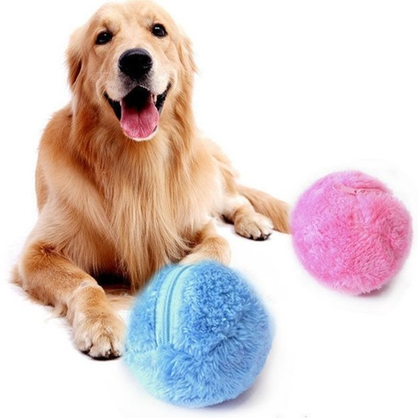 Magic Roller Ball Toy Automatic Roller Ball Magic Ball Dog Cat Pet Toy
