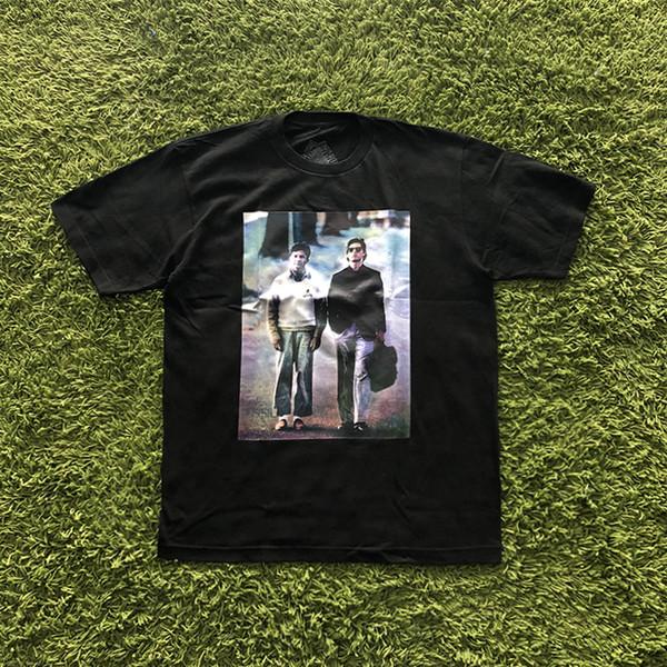 19SS REIGN HOMEM T-SHIRT verão Estilo Hip Hop impressão de manga curta T-shirt homem e mulher moda T