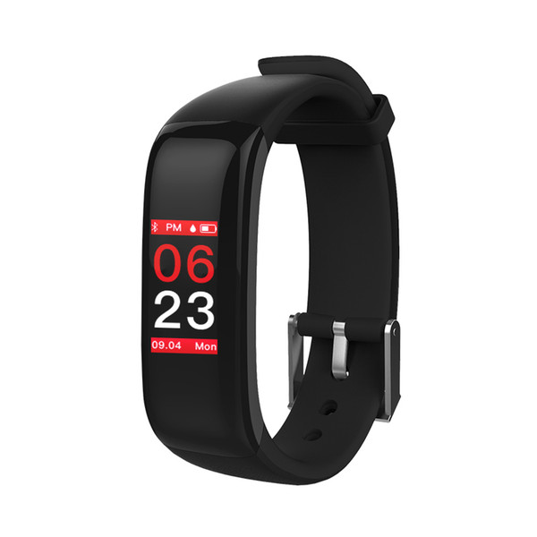 Smart Bracelet P1 PLUS Color Screen Pulsometer Blood Pressure Fitness Tracker Band Heart Rate Waterproof Wristband