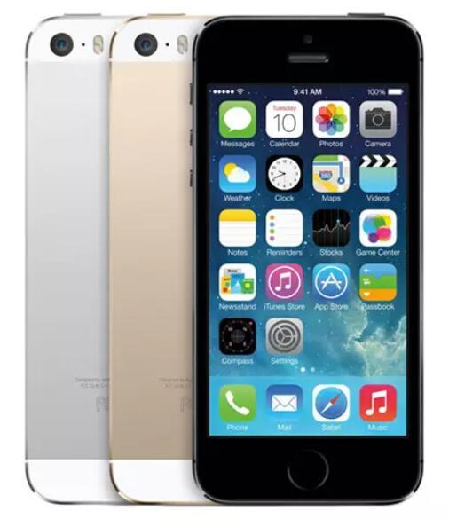"""Apple iPhone 5S Without Fingerprint 64GB 32GB 16GB Rom iOS 4.0"""" IPS HD A7 8MP Unlocked Used Phone"""