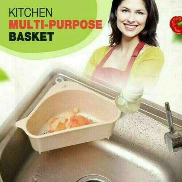 Fregadero de cocina multifuncional de almacenamiento en rack Multi Propósito Lavado Tazón Esponja drenaje rack de alta calidad de plástico de cocina Organizador