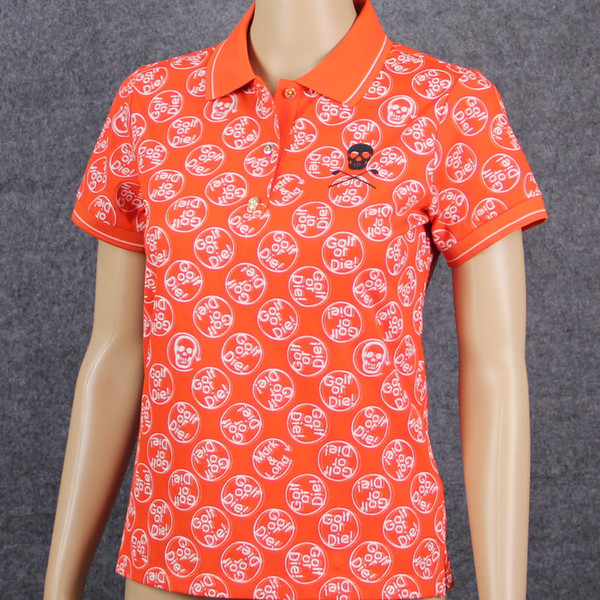 New Women MARK LONA Golf Trainning T Shirts Short Sleeve Sporting Golf Clothing T-Shirts