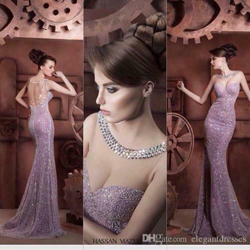 Sexy Sereia V Pescoço Longo Formal Vestido de Noite 2019 Lantejoulas Festa Prom Robe de Soirée Boho Vestidos de Baile Vestir Desgaste da Noite