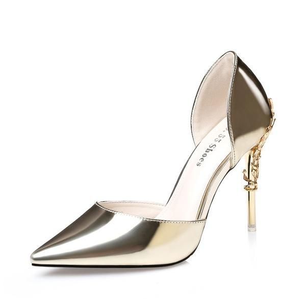 f0c55d476a Moda señaló zapatos de tacón alto Discoteca Sexy Sandalias de tacón fino  Zapatos de tacón de