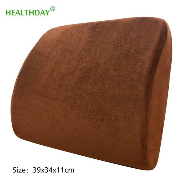 Latex Naturel Chaise De Bureau Coussin Soutien Dos De Massage Oreiller Orthopédique Coussin Siège De Voiture Lombaire Pad Soulagement De La Douleur Taille Oreiller