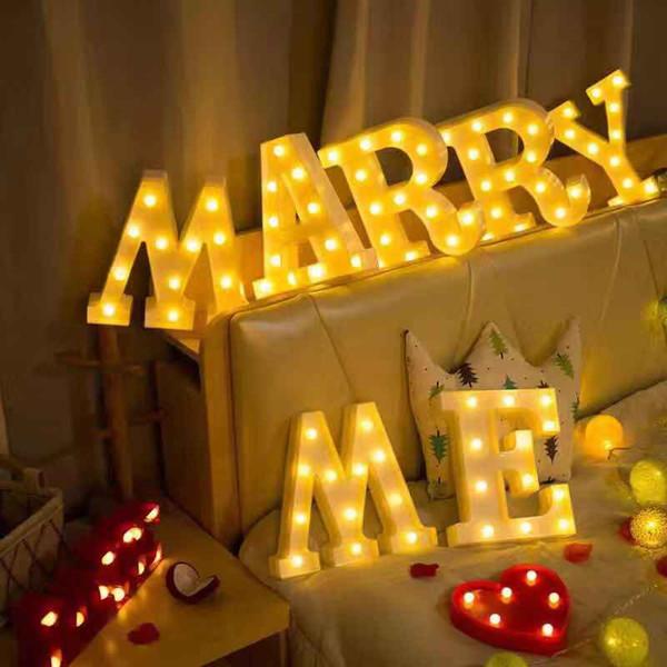 Free Shipping Wholesale LIGHT Wedding Light Propose Custom Christmas Night bright LED lamp Desk Table Light book Child Decoration Gifts