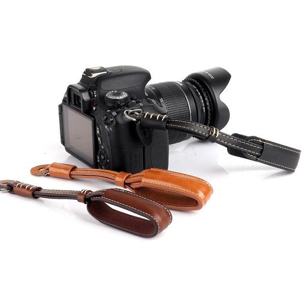 Camera Strap PU Leather Camera Wrist Hand Strap Grip For Panasonic GH5s GH5 GH4 GH3 GH2 GH1 GX9 G80 G85 G9 G8 G7 G6 DSLR Strap