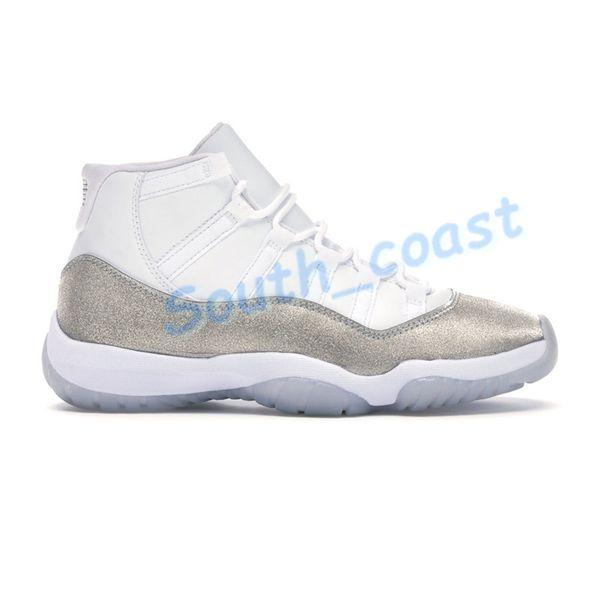 siliver métallique blanc