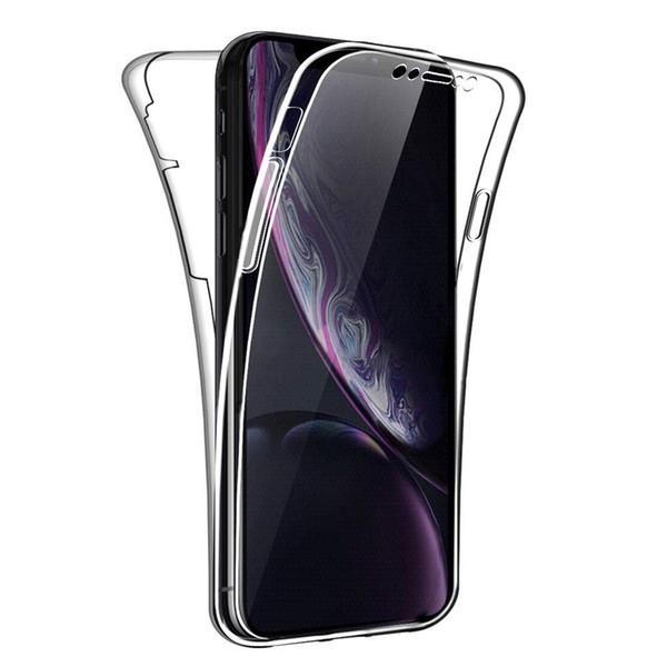 Pour Iphone 11 Case 360 degrés Full Body Cover ultra-mince clair hybride TPU souple Phone pour iPhone 11 Pro Max