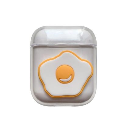 NEW Airpods case pc cute Air pods Bluetooth wireless Earphone Cases transparent Earphone case Accessories case