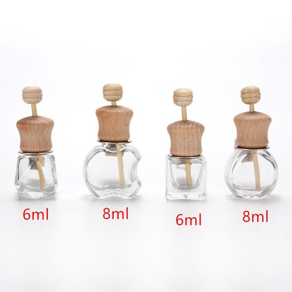 Car Perfume Clip For Essential Oils Air Freshener Fragrance Air Vent Outlet Empty Glass Bottle Fast Shipping F1968