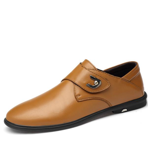 Cuir véritable Hommes Chaussures De Luxe Mocassins Hommes Mocassins Slip Respirant Sur Noir Chaussures De Conduite