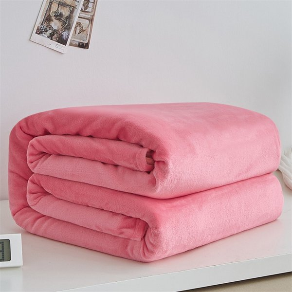 Bedroom Summer Thin Faux Fur Blanket Soft Coral Fleece Throws Sofa Cover Bedspread Flannel Blankets Bedding Full Bedsheet Quilts