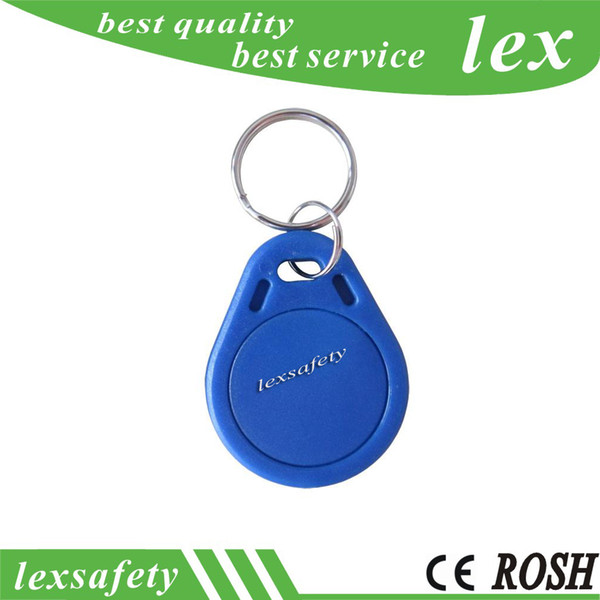 Best Factory price TK4100 125khz 100pcs/lot ISO11785 ABS RFID custom Access Control plastic id key fobs