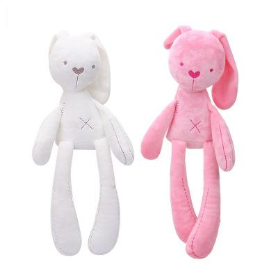 Bunny Plush Toys Easter Rabbit Dolls Cute Rabbit Stuffed Toy Long Ears Bunny Toys Bed Pillow Toy Kids Baby Birthday Gift YFA799