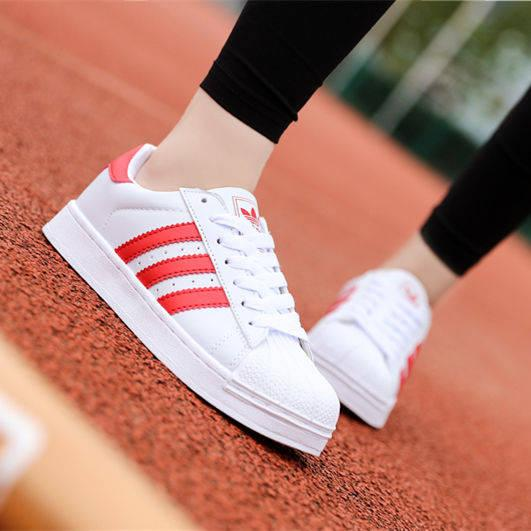 top popular Shell head classic shoes men and women low to help small white shoes flat bottom couple sports casual shoes mm 2019