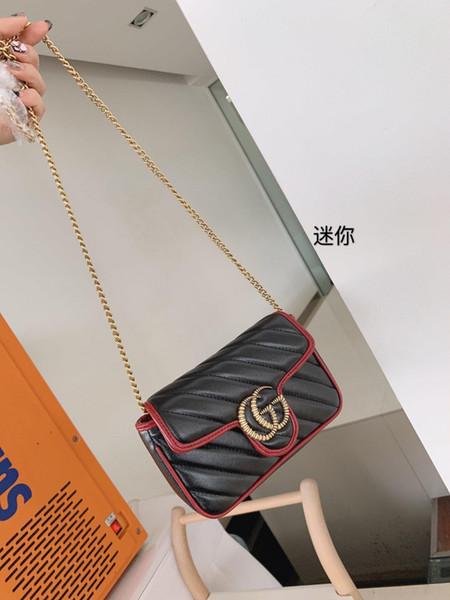 Nouveau sac à main de luxe sacs de créateurs célèbres femmes sac une femme principale bolsos mujer dames main pour