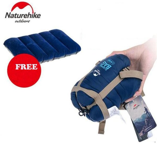 reputable site 1dae1 26f2b Naturehike Splicing Envelope Sleeping Bag Ultralight Adult Portable Outdoor  Camping Hiking Sleeping Bags Cheap Autumn 1.9*0.75m Gander Mountain ...
