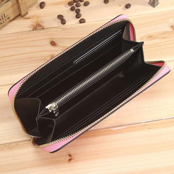 porte-monnaie rose Sugao travestissement titulaire de carte de concepteur sacs à main portefeuille design porte-passeport femmes titulaire de la carte de crédit portefeuilles grande capacité rose