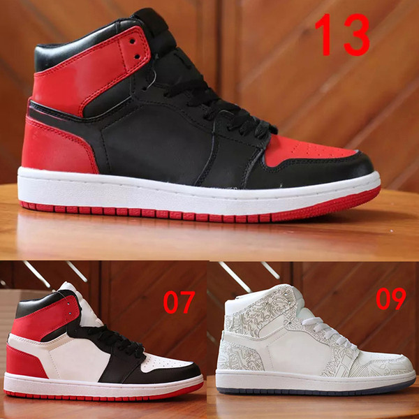 best selling NEW designer SALE Chicago 1S shoes 1 OG UNC Men Sneakers Mandarin duck Top Shoes for Mens Sports Sneakers Trainers Shoes