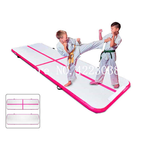 Free Shipping Free Pump 3*1*0.2m Inflatable Air track Gymnastic Tumbling Mat Inflatable Air Floor Mat Exercise Mat