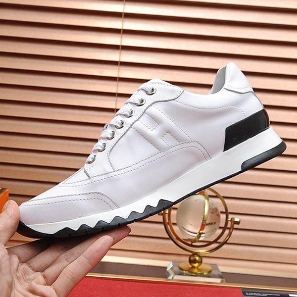 Мужская обувь Кроссовки Breathable Zapatos de hombre Trail Sneaker из телячьей кожи Luxury Design Мужская обувь Повседневная одежда Chaussures pour hommes Luxury