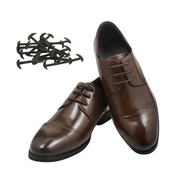 Prevalent 12pcs/set 3 Sizes Men Women Leather Shoes Lazy No Tie Shoelaces Elastic Silicone Shoe Lace Suitable Free Shipping