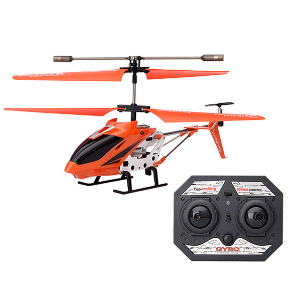 Hot 3.5 Channel Remote Control Helicopter with Gyro Radio Remote Control Aircraft Drop-resistant Alloy Small Aviation Model Toy