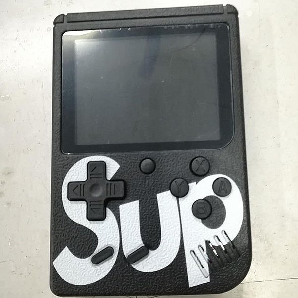 SUP Mini Handheld video Game Console Portable Players 400 IN 1 Game BOX Colorful LCD Screen Game Player DHL