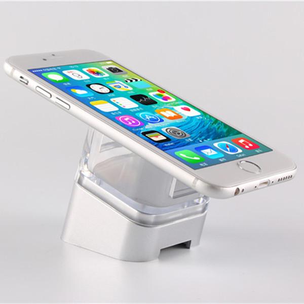 6X Samsung Android Telefone Móvel Loja de Marca de Varejo Dispositivo Anti-roubo Telefone Alarme de Segurança Móvel Acrílico Display Stand