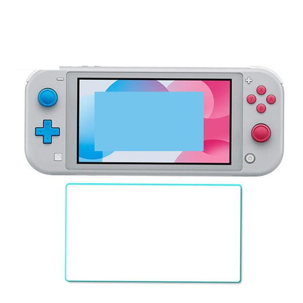 For Nintendo Switch Lite 9H Tempered Glass HD Anti-Scratch Glass Screen Protector 100pcs/lot no retail package